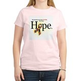 Autism HOPE Ribbon (Students) Womens Light T-Shirt