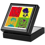SURF RAT & SPENCER POP ART Keepsake Box