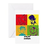 SRS POP ARTGreeting Cards (Pk of 10)