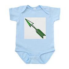 """""""Green Arrow"""" Infant Creeper"""