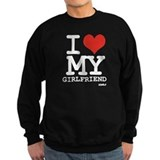I LOVE MY GIRLFRIEND Jumper Sweater