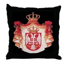 Serbian Throw Pillow
