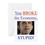 Broken Economy Greeting Cards (Pk of 20)