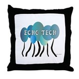 Cardiac Echo Tech Throw Pillow