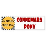 My Other Ride Is A Connemara Pony Bumper Sticker