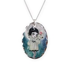 Pierrette Under the Icy Moon Necklace