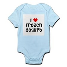I * Frozen Yogurt Infant Creeper