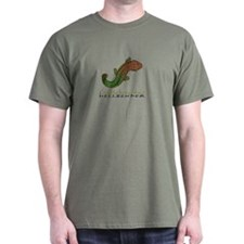Cryptobranchus Black T-Shirt