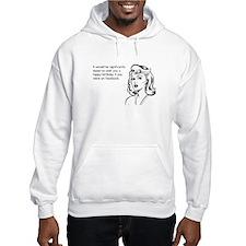 Happy Birthday on Facebook Hooded Sweatshirt