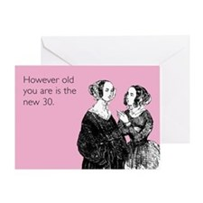 The New 30 Greeting Card