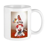 Ernie the Sock Monkey Birthday Coffee Mug