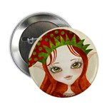 "Jollybelle Christmas Elf 2.25"" Button"