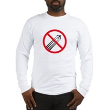 STOP CHEMTRAILS Long Sleeve T-Shirt
