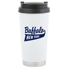 Buffalo New York Ceramic Travel Mug