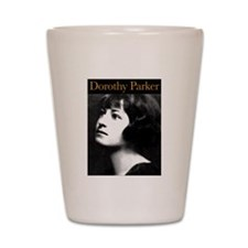 Dorothy Parker Shot Glass