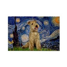 Starry Night Lakeland T. Rectangle Magnet