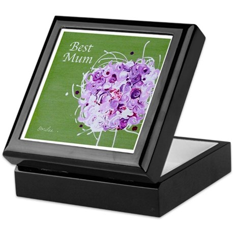 Bouquet 'Best Mum' Keepsake Box