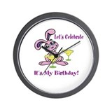 Let's Celebrate My Birthday Wall Clock