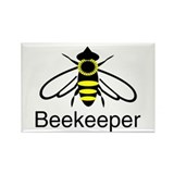 BeeKeeper 3 Rectangle Magnet