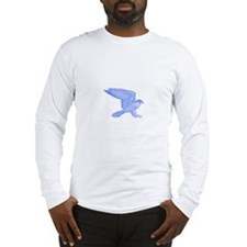 falcon (blue) Long Sleeve T-Shirt