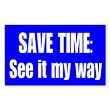 See it My Way Decal
