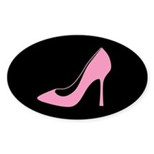 Pink High Heel Shoe Decal