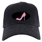 Pink High Heel Shoe Baseball Hat