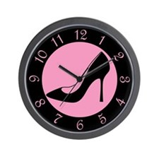 High Heel Shoe Wall Clock