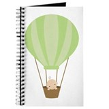 Baby in a Hot Air Balloon Journal