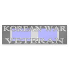 Korean Service Ribbon Bumper Bumper Sticker