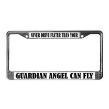 Guardian Angel License Frame