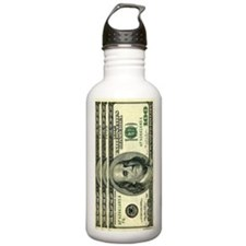 Stainless Money Water Bottle 1.0L