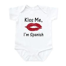Kiss Me, I'm Spanish Infant Creeper