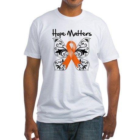 Hope Matters Leukemia Fitted T-Shirt