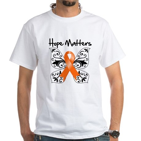 Hope Matters Leukemia White T-Shirt