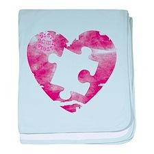 PIECE OF MY HEART baby blanket