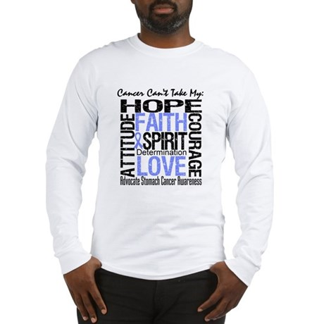 Stomach Cancer Can'tTakeHope Long Sleeve T-Shirt