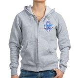 Stomach Cancer FightLikeAGirl Zip Hoodie