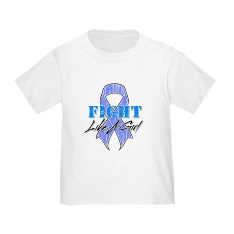 Stomach Cancer FightLikeAGirl Toddler T-Shirt