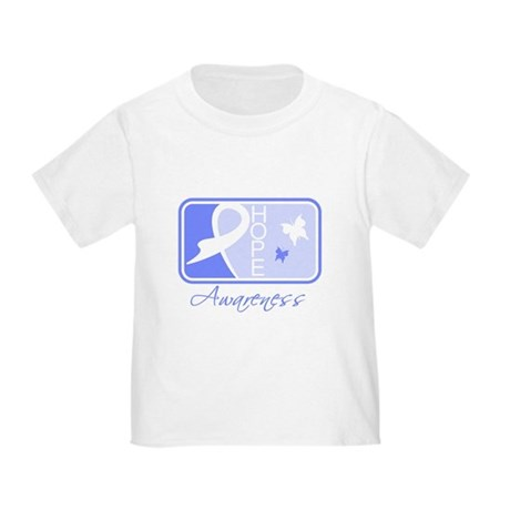Stomach Cancer Hope Tile Toddler T-Shirt