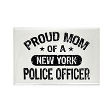 Proud Mom of a New York Police Officer Rectangle M