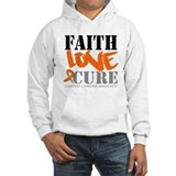 Faith Love Cure Leukemia Hoodie
