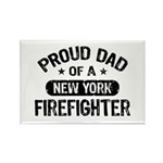 Proud Dad of a New York Firefighter Rectangle Magn