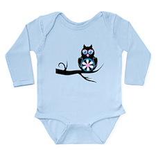Owl Long Sleeve Infant Bodysuit