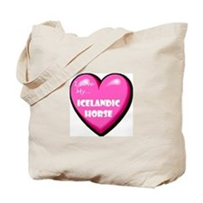 I Love My Icelandic Horse Tote Bag