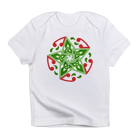 Celtic Christmas Star Infant T-Shirt