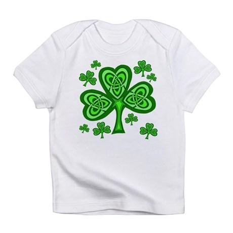 Celtic Shamrocks Infant T-Shirt