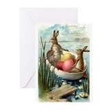 Retro Easter Cards (Pk of 10)