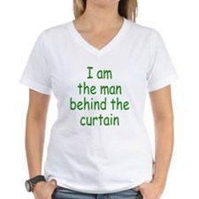I am the man behind the curta Shirt