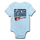 My Grandpa Plays The Blues Infant Bodysuit